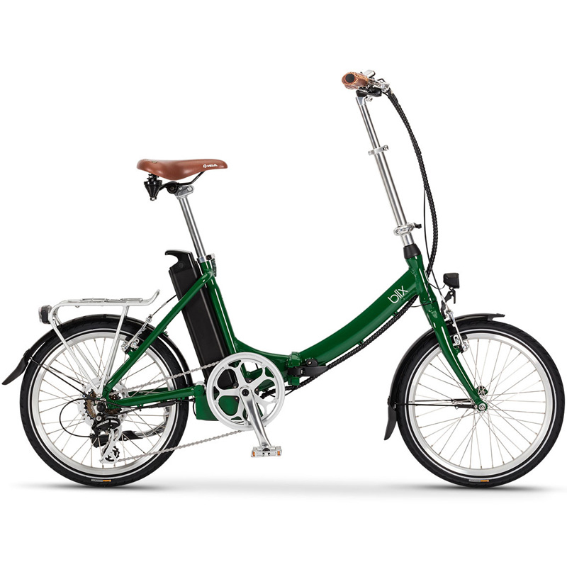 Blix Vika+ Folding Electric Bicycle - Green