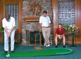 Big Moss Portable Putting Green
