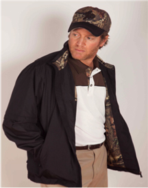 Boo Weekley Full Zip Jacket - Black/Mossy Oak