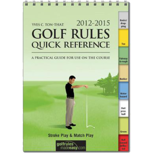 2012-2015 Golf Rules Quick Reference