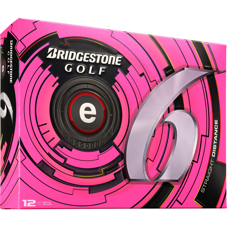 Image of Bridgestone e6 Golf Balls (1 Dozen) - Pink