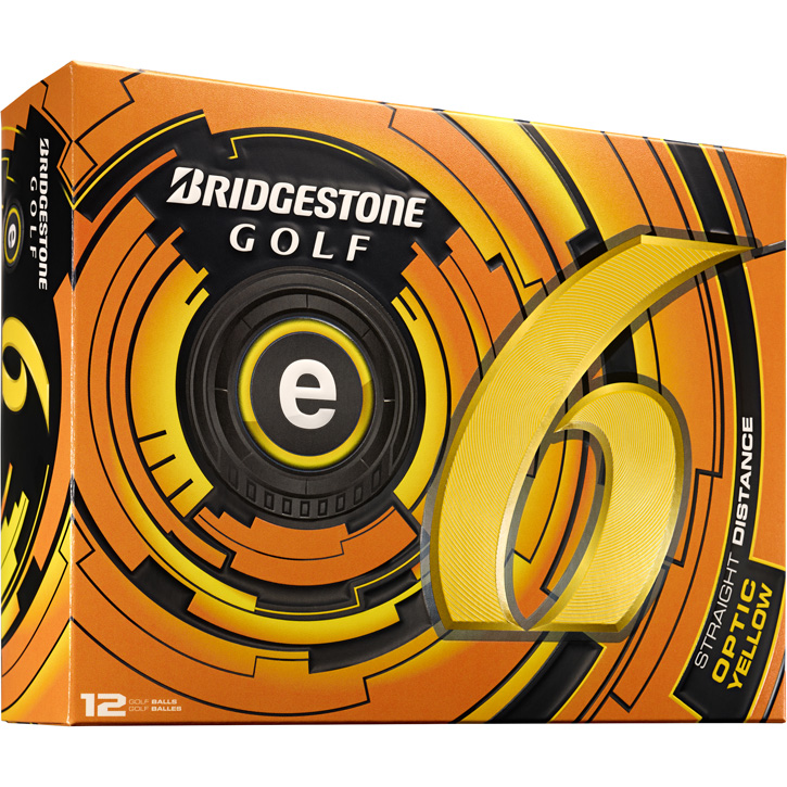 Bridgestone e6 Golf Balls (1 Dozen) - Yellow