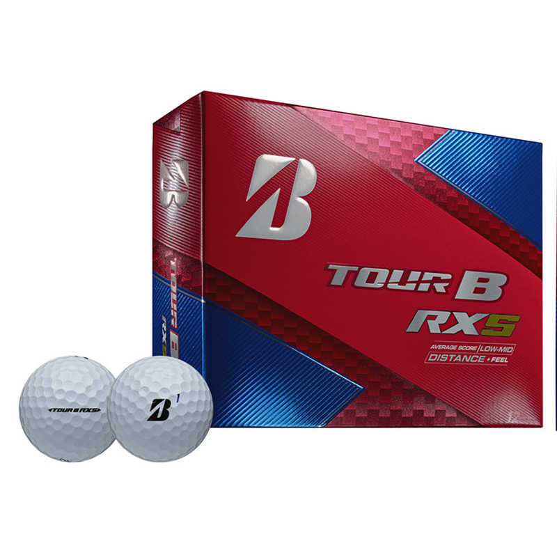 2019 Bridgestone Tour B RXS Golf Balls (1 Dozen) - White