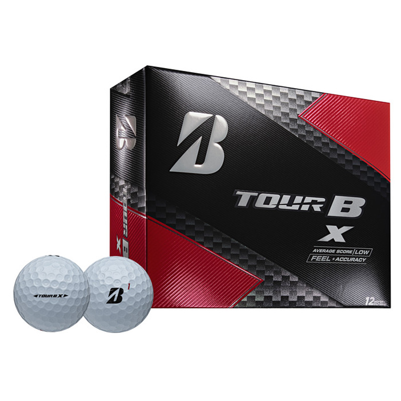2019 Bridgestone Tour B X Golf Balls (1 Dozen) - White