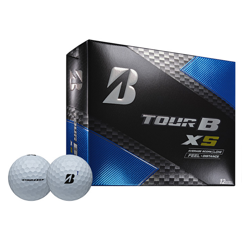 2019 Bridgestone Tour B XS Golf Balls (1 Dozen) - White