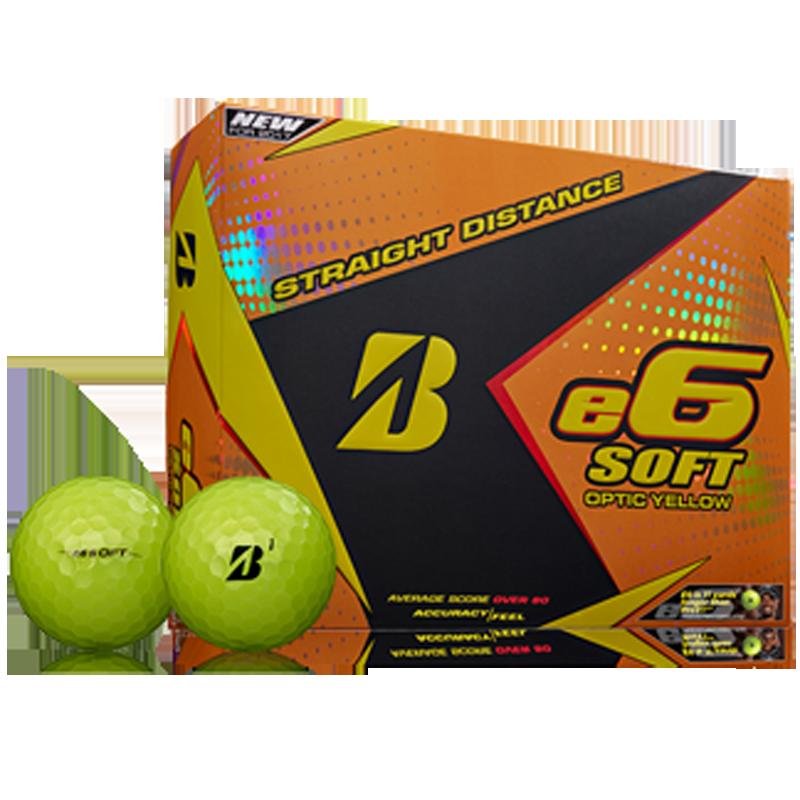 Bridgestone e6 Soft Golf Balls (1 Dozen) - Yellow