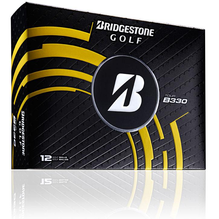 2014 Bridgestone Tour B330 Golf Balls (1 Dozen) - White