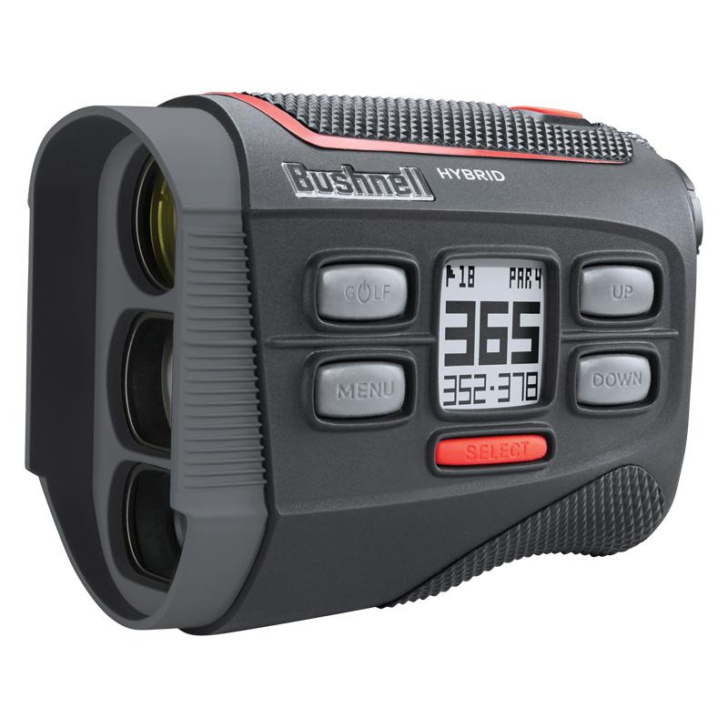 2018 Bushnell Hybrid Laser Golf Rangefinder & GPS