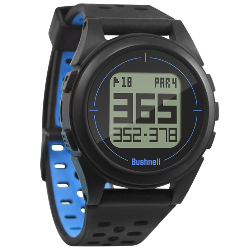 Bushnell Ion 2 GPS Golf Watch - Black/Blue