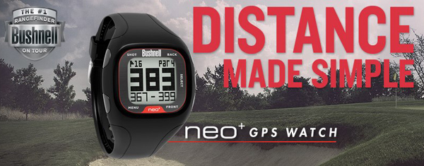 bushnell neo plus gps golf watch