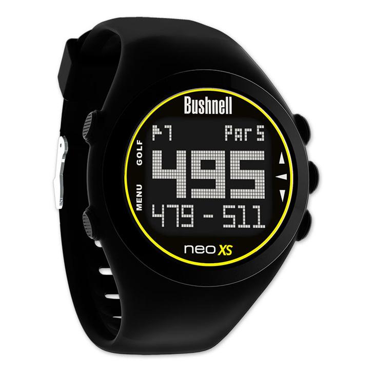 Bushnell Neo Xs Gps Golf Watch Black At Intheholegolf Com