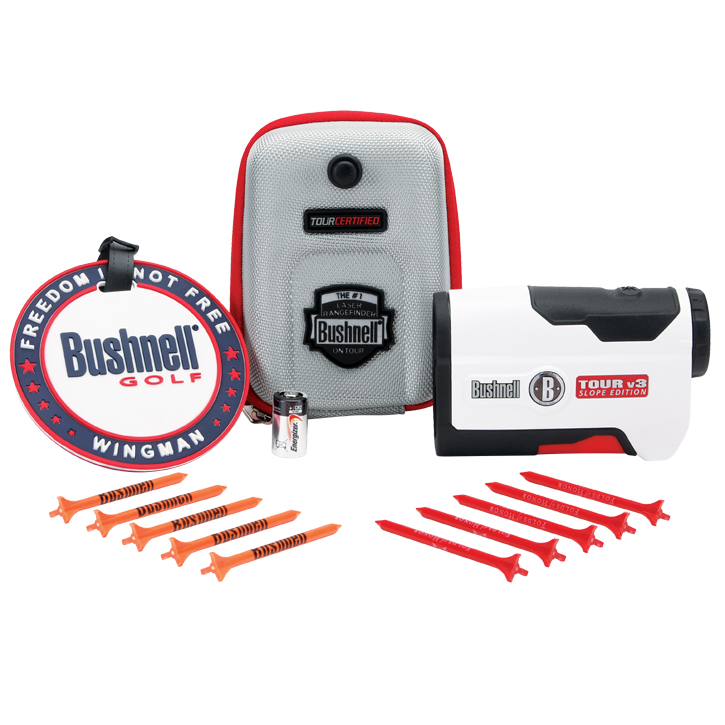 Bushnell Tour V3 Slope Edition Patriot Pack Golf Rangefinder