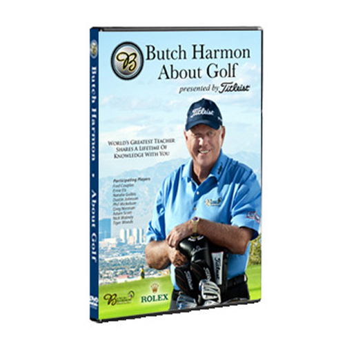 Butch Harmon About Golf DVD