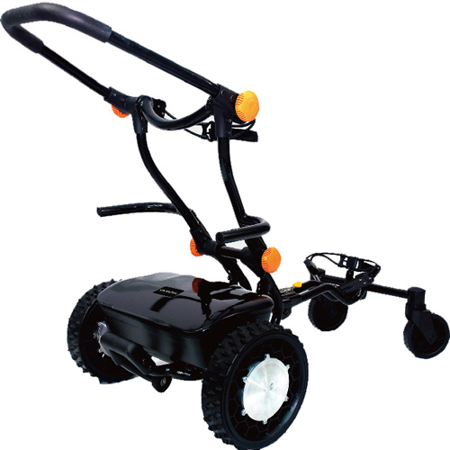 caddytrek remote controlled electric golf push cart at
