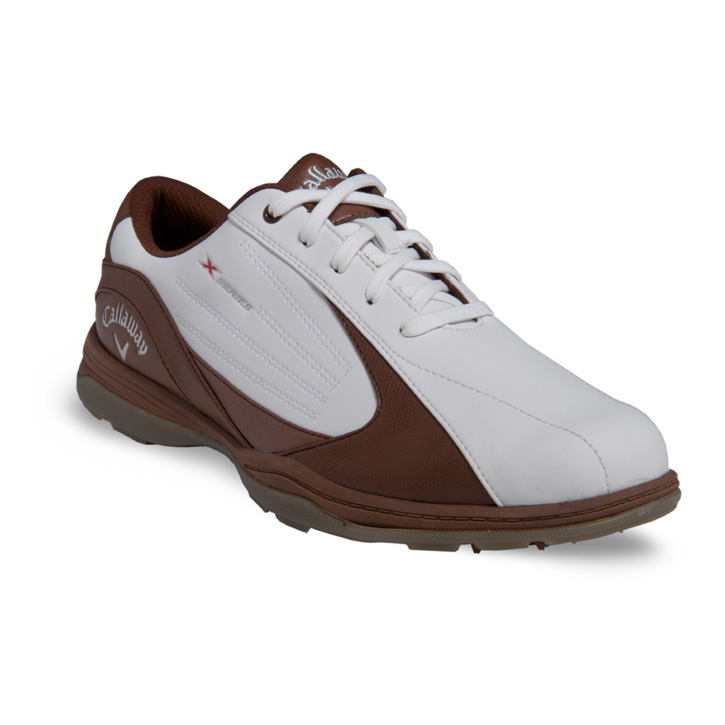 2014 callaway x golf shoes mens white brown at