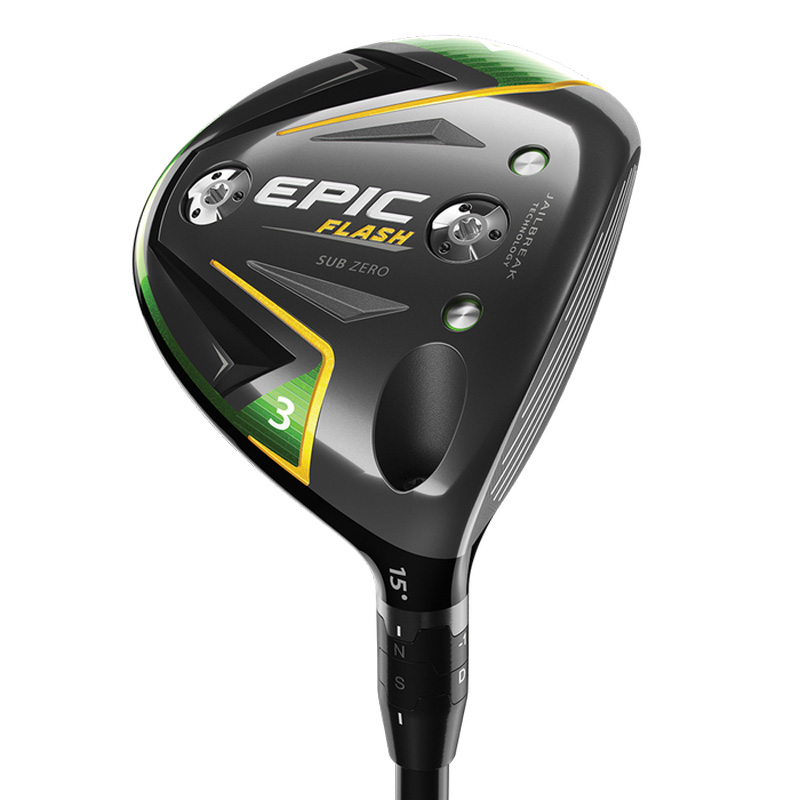 2019 Callaway Epic Flash Sub Zero Fairway Wood
