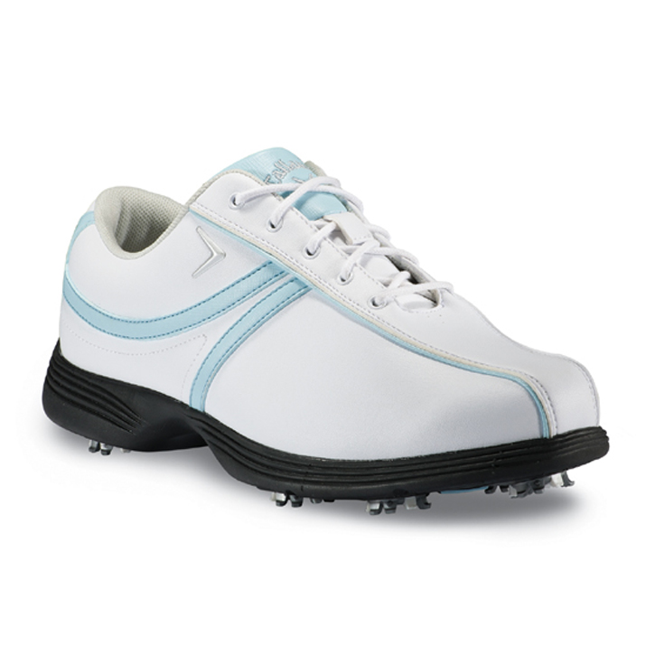 Callaway 2013 Savory Golf Shoes - Womens White/Light Blue Image