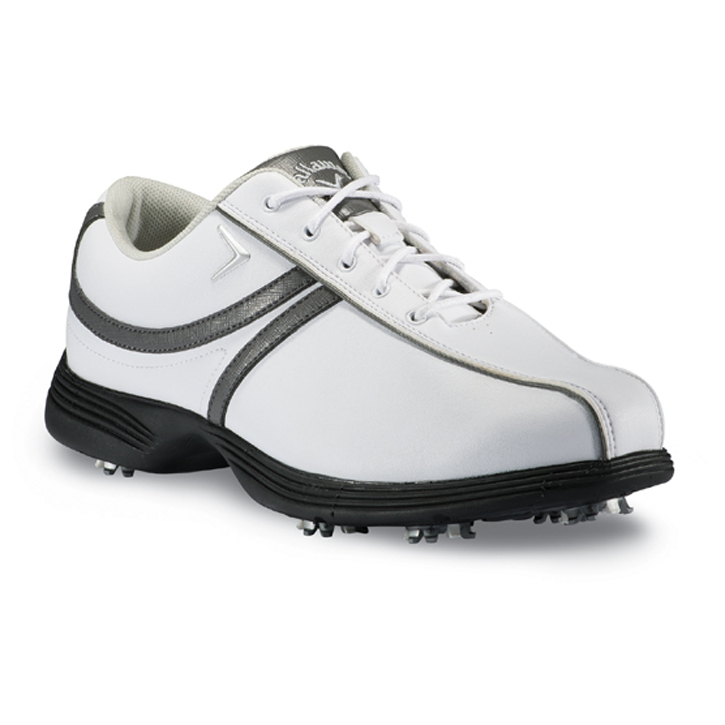 Callaway 2013 Savory Golf Shoes - Womens White/Dark Grey