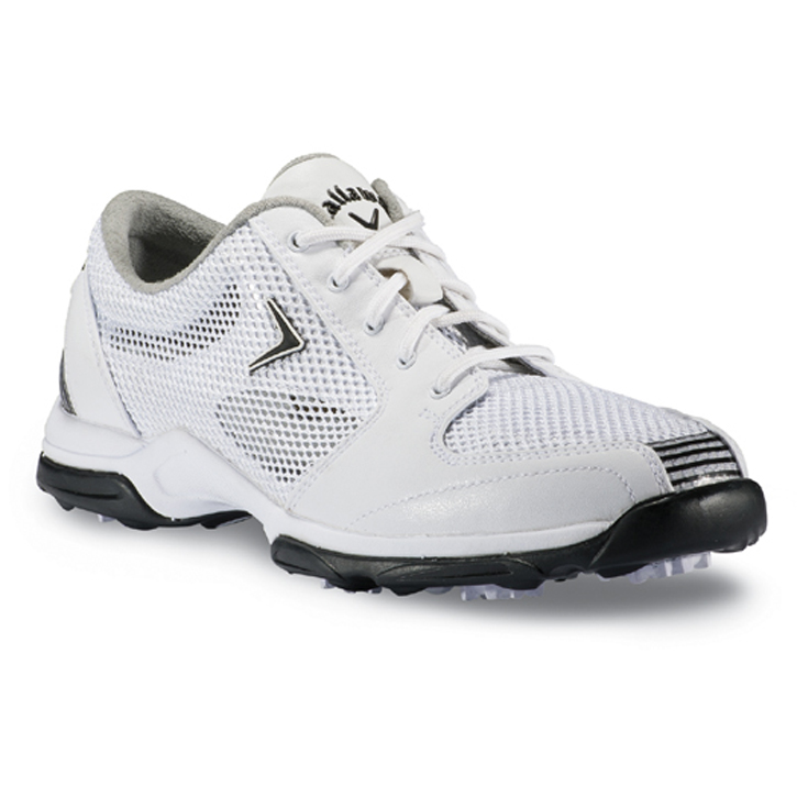 Callaway 2013 Solaire Golf Shoes - Womens White/Black
