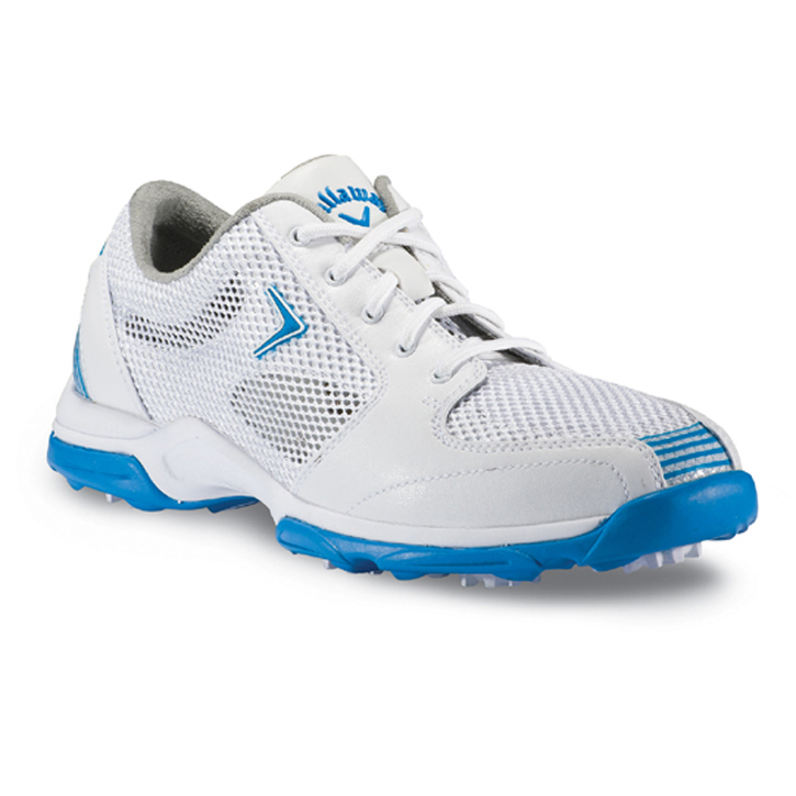 Callaway 2013 Solaire Golf Shoes - Womens White/Blue