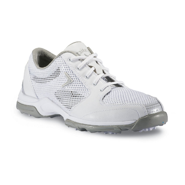 Callaway 2013 Solaire Golf Shoes - Womens White/Silver