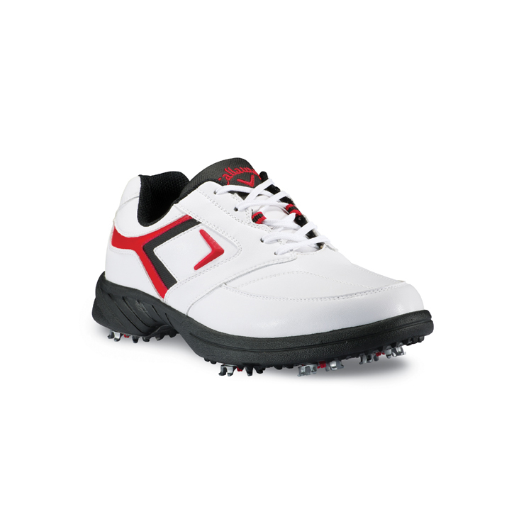 Callaway 2013 Sport Era Golf Shoes - Mens White/Black/Red Image