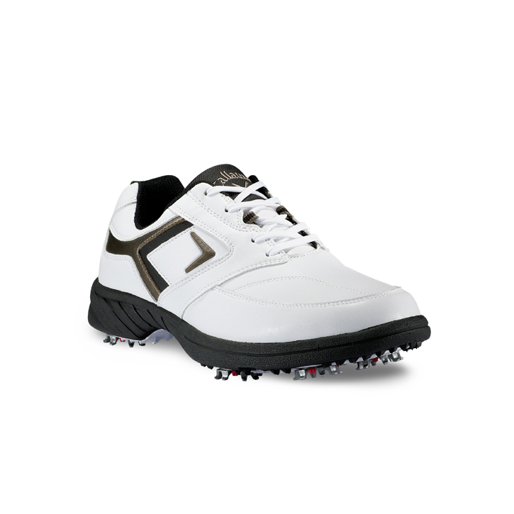 Image of Callaway 2013 Sport Era Golf Shoes - Mens Wide White/Black/Titan