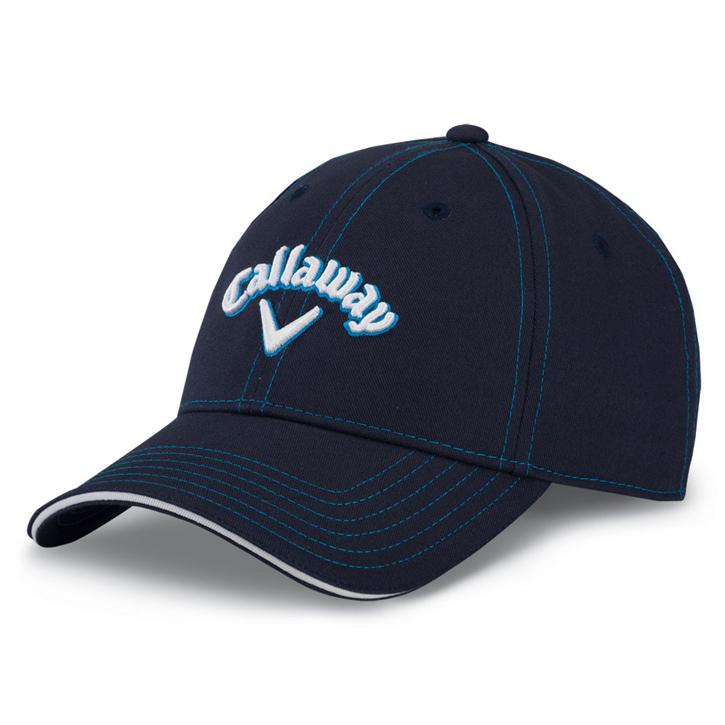 Callaway Sport Twill Golf Cap - Navy