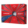 Callaway Chrome Soft Golf Balls (1 Dozen) - TRUVIS - European