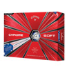 Callaway Chrome Soft Golf Balls (1 Dozen) - TRUVIS - Stars & Stripes