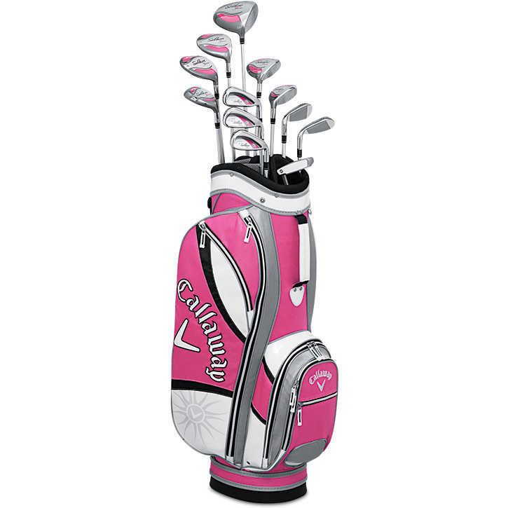Callaway Solaire Gems 13 Piece Complete Golf Set Womens Quartz Pink At Intheholegolf