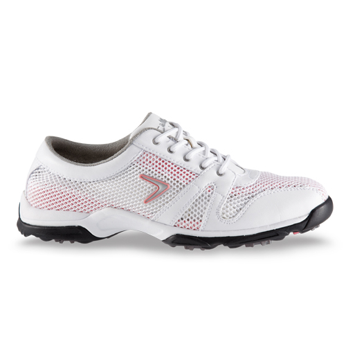 Home > Callaway 2012 Solaire Womens Golf Shoes - White/Pink