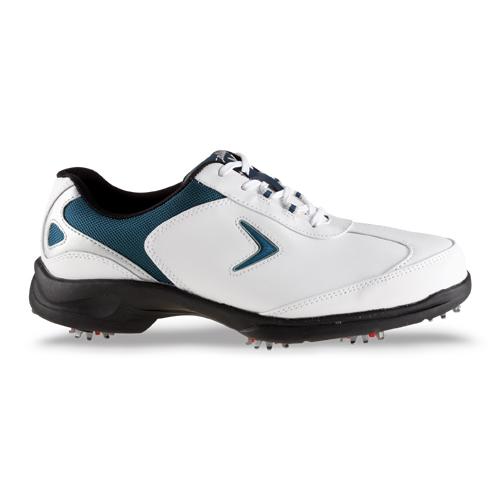 Callaway 2012 Sport Era Mens Golf Shoe - White/Navy/Silver at