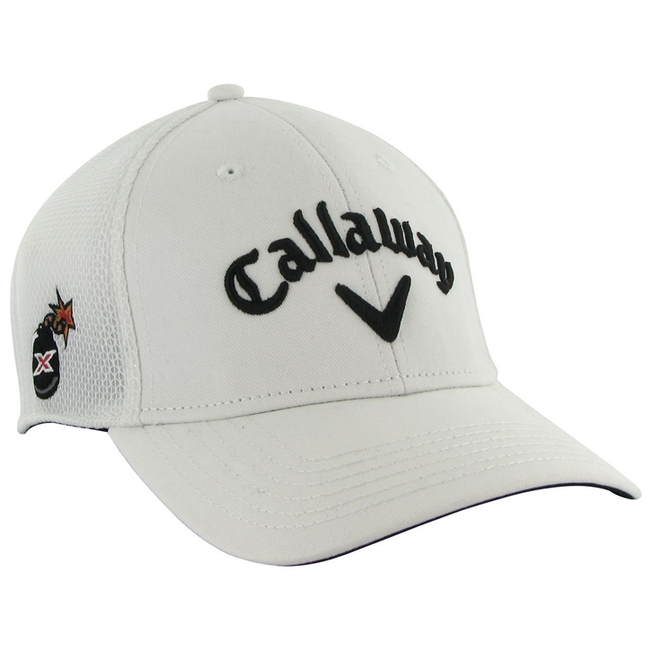 Callaway Tour Mesh Fitted Golf Cap - White