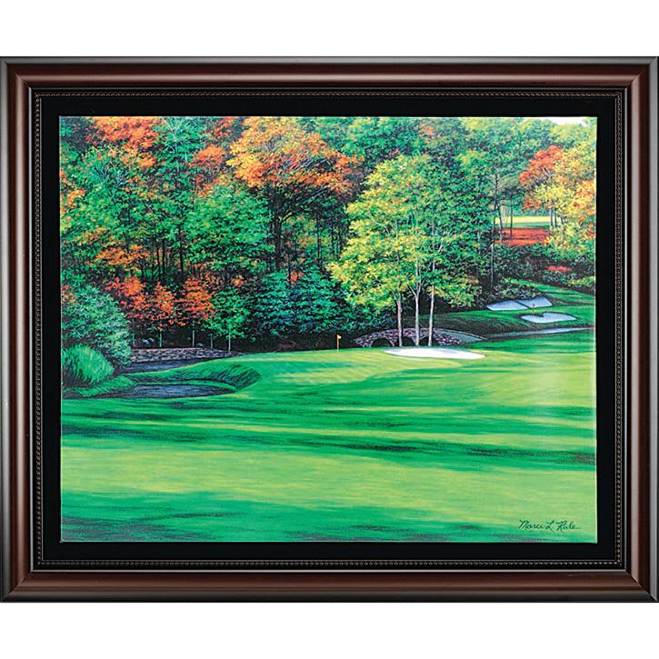 Augusta 11 - White Dogwood/Framed Canvas