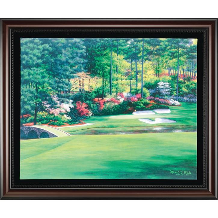 Augusta 12 - Golden Bell Framed Canvas