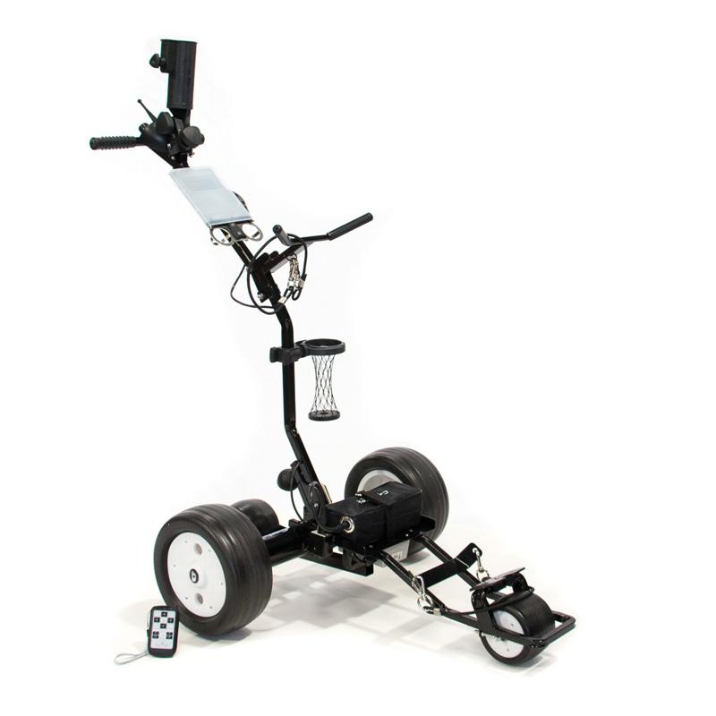 Cart Tek GRi 1350LH Remote Lithium Electric Golf Push Cart