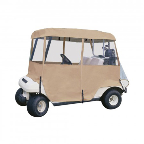 Classic Accessories Deluxe 4-Sided 2-Person Cart Enclosure