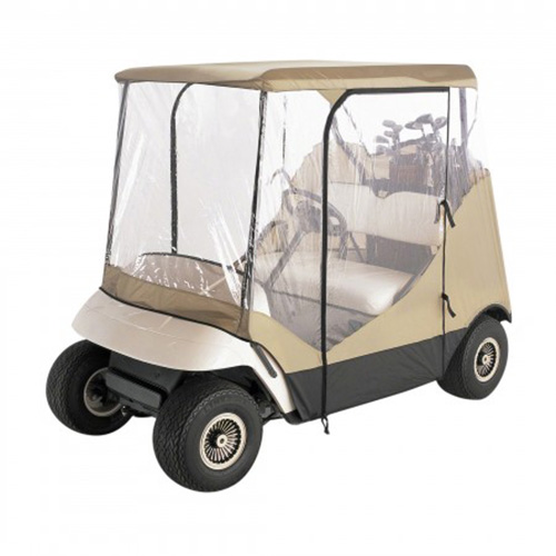 Classic Accessories Travel 4-Sided 2-Person Cart Enclosure