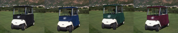 clear vision golf cart cover colors