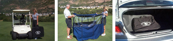 clear vision golf cart cover use
