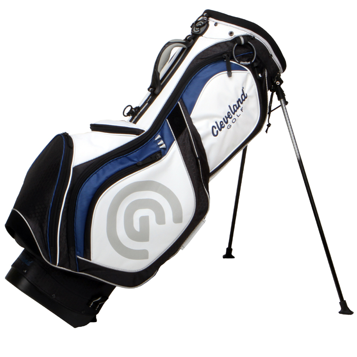 Cleveland Tour Stand Bag - 2011 - Blue/Black/White