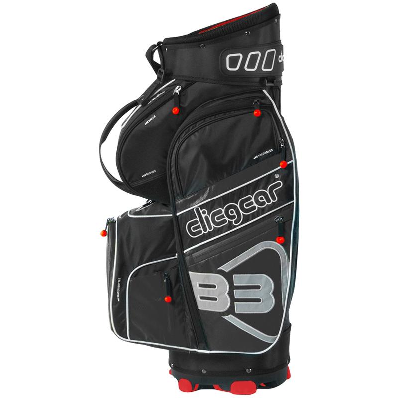 2016 Clicgear B3 Cart Bag - Black