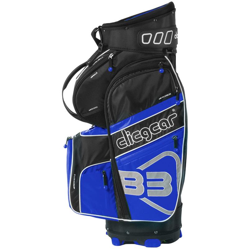 2016 Clicgear B3 Cart Bag - Black/Blue
