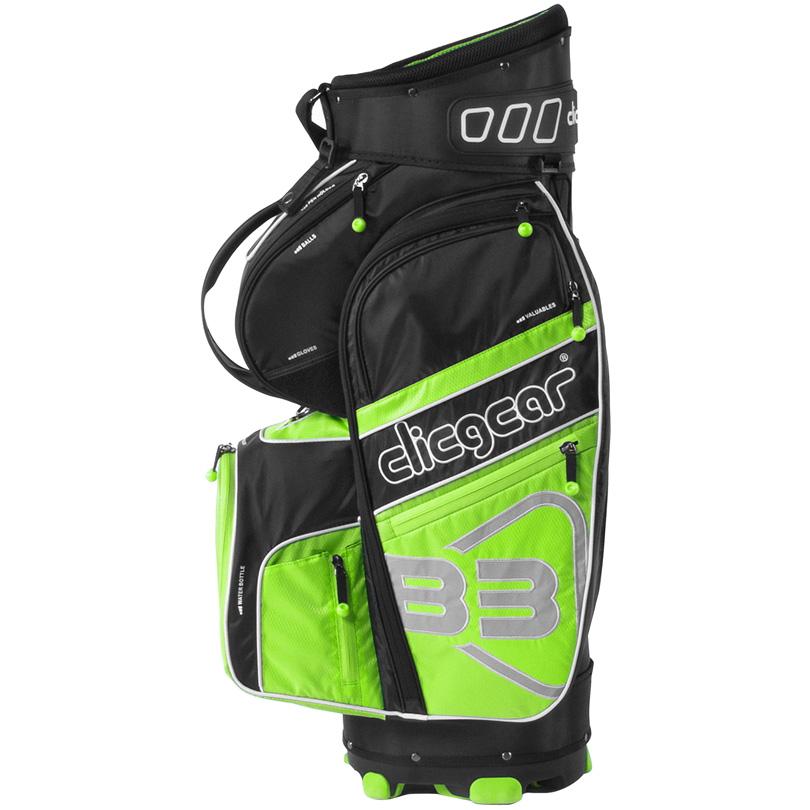 2016 Clicgear B3 Cart Bag - Black/Lime