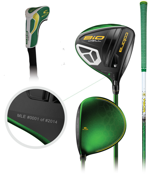 limited edition cobra bio cell green masters driver