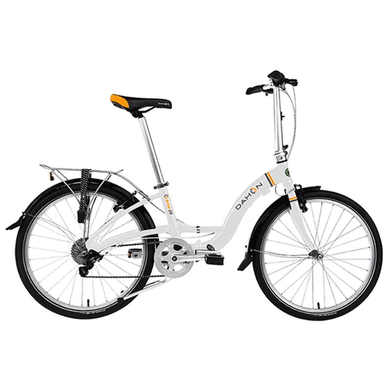 Dahon Briza D8 Folding Bicycle - Frost