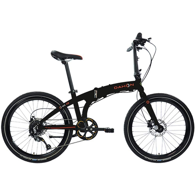 Dahon IOS D9 Folding Bicycle - Black