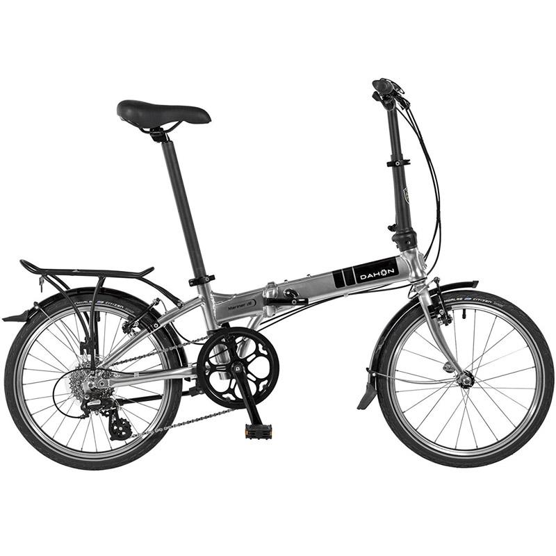 Dahon Mariner D8 Folding Bicycle - Quicksilver