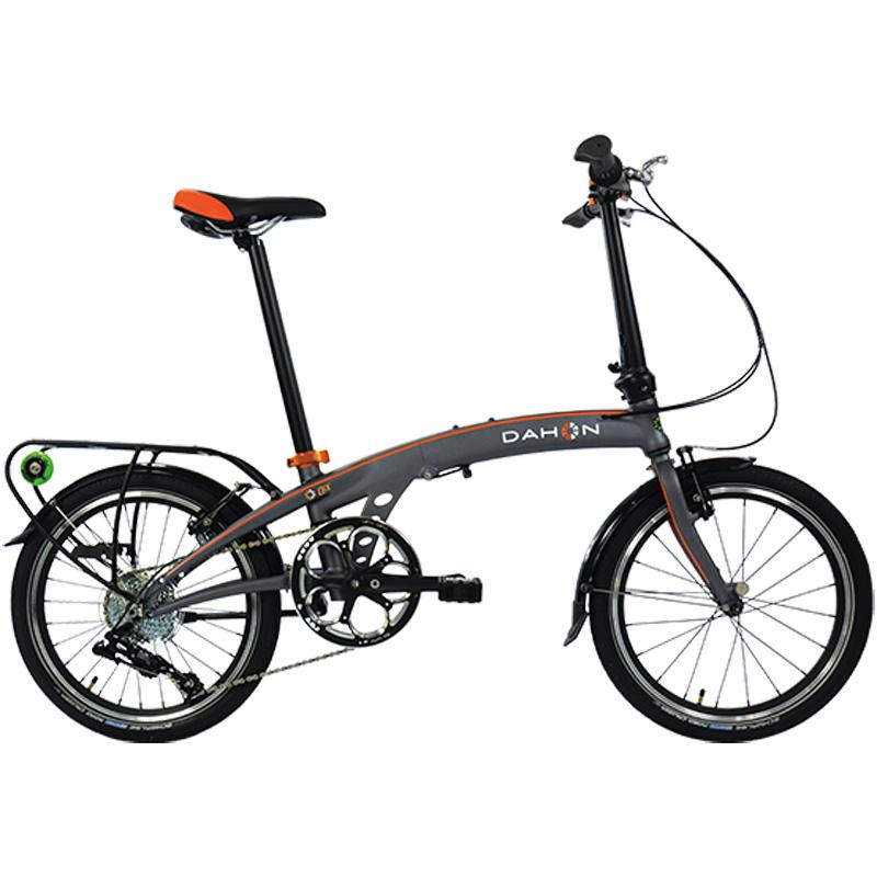 Dahon QIX D8 Folding Bicycle - Smoke